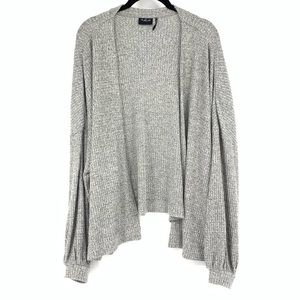 Out From Under Urban Outfitters Waffle Cardigan